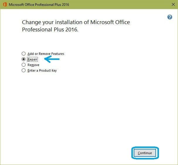 Fix MS Office error OS not configured to run this application