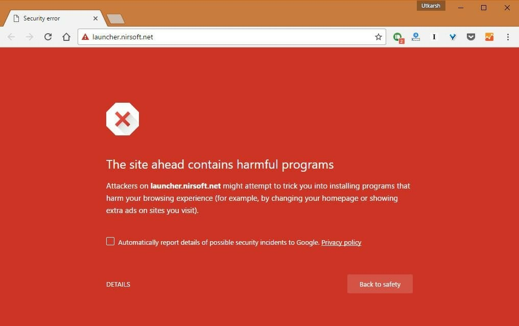 site-contains-harmful-programs-chrome