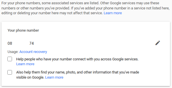 change-phone-number-gmail
