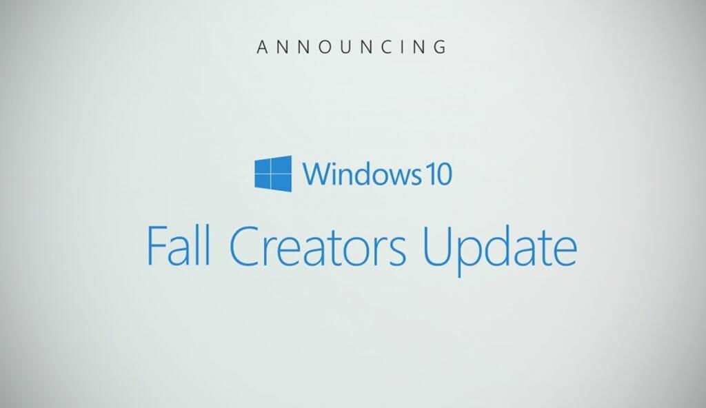 Windows 10 Fall Creators Update stop apps restarting
